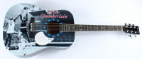 "Wilt Chamberlain Signed 40"" Acoustic Guitar (PSA LOA) at PristineAuction.com"
