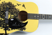 "Jack Johnson Signed 40"" Acoustic Guitar (PSA LOA) at PristineAuction.com"