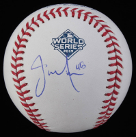 Javy Guerra Signed Official 2019 World Series Baseball (JSA COA) at PristineAuction.com
