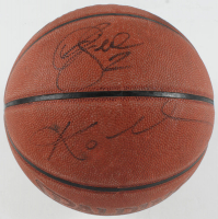Kobe Bryant, Derek Fisher & John Salley Signed NBA Basketball (Beckett LOA) at PristineAuction.com
