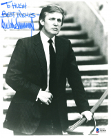 "Donald Trump Signed 8x10 Photo Inscribed ""To Hugh - Best Wishes"" (Beckett LOA) at PristineAuction.com"