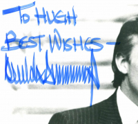 """Donald Trump Signed 8x10 Photo Inscribed """"Best Wishes"""" (Beckett LOA) at PristineAuction.com"""