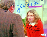 """Julie Dawn Cole Signed """"Willy Wonka & the Chocolate Factory"""" 8x10 Photo Inscribed """"Veruca Salt"""" (AutographCOA COA) at PristineAuction.com"""