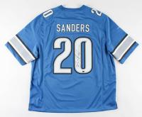 Barry Sanders Signed Lions Jersey (Schwartz Sports COA & JSA COA) at PristineAuction.com