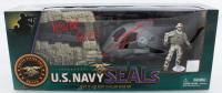 "Robert O'Neill Signed ""U.S. Navy Seals"" Figurine Inscribed ""Never Quit!"" (PSA Hologram) at PristineAuction.com"