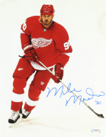 Mike Modano Signed Red Wings 11x14 Photo (PSA Hologram) at PristineAuction.com