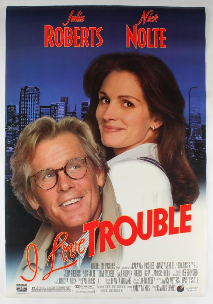 """I Love Trouble"" 27x40 Original Movie Poster at PristineAuction.com"