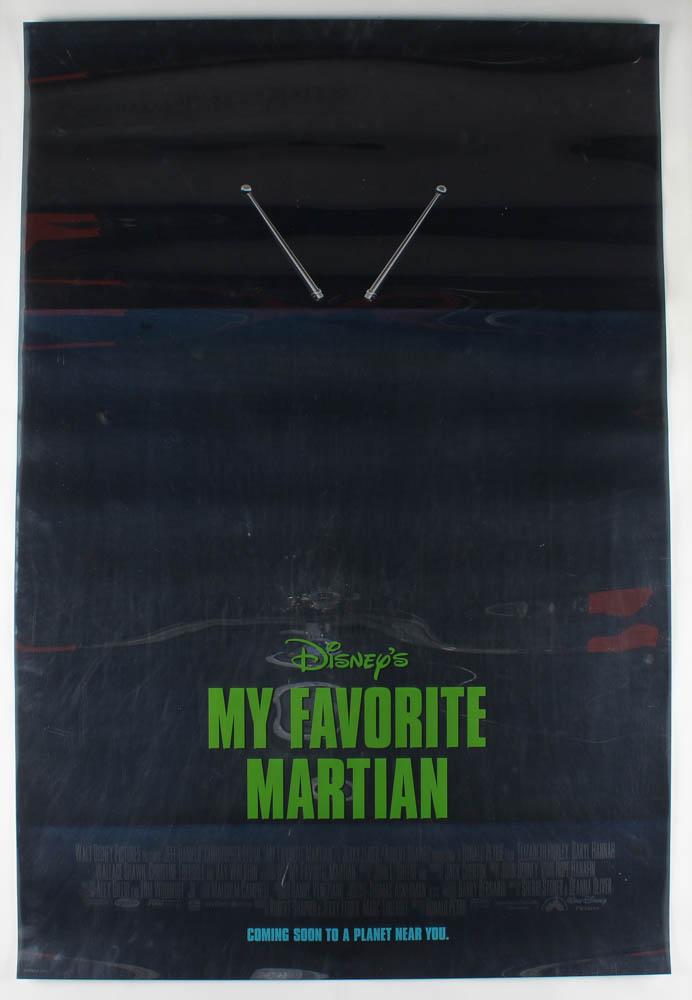 """My Favorite Martian"" 27x40 Original Movie Teaser Poster at PristineAuction.com"