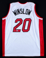 Justise Winslow Signed Heat Jersey (PSA COA) at PristineAuction.com