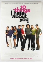 """10 Things I Hate About You"" 27x40 Original Movie Poster at PristineAuction.com"