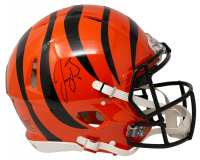 Joe Burrow Signed Bengals Full-Size Authentic On-Field Speed Helmet (Fanatics Hologram) at PristineAuction.com