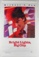 """Bright Lights, Big City"" 27x40 Original Movie Poster at PristineAuction.com"