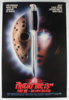 """""""Friday the 13th Part VII: The New Blood"""" 27x40 Original Movie Poster at PristineAuction.com"""