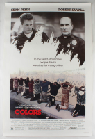 """Colors"" 27x40 Original Movie Poster at PristineAuction.com"