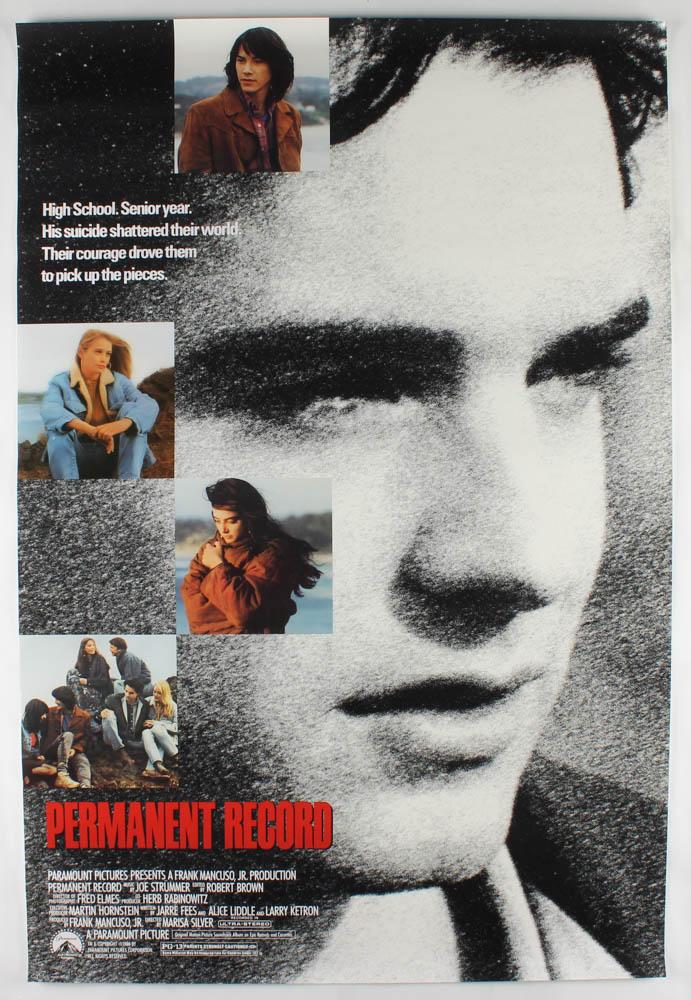 """Permanent Record"" 27x40 Original Movie Poster at PristineAuction.com"