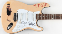 Pat Monahan & Jimmy Stafford Signed Train Full-Size Electric Guitar (PSA Hologram) at PristineAuction.com