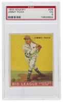 Jimmy Foxx 1933 Goudey #154 (PSA 3) at PristineAuction.com