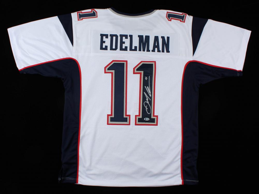 Julian Edelman Signed Jersey (Beckett Hologram) | Pristine Auction