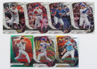 Lot of (7) 2020 Panini Prizm Baseball Cards with James Paxton Prizms Green #87, Ken Giles Prizms Silver #59 at PristineAuction.com