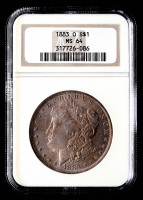 1883-O Morgan Silver Dollar (NGC MS64) (Toned) at PristineAuction.com