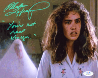 "Heather Langenkamp Signed ""A Nightmare on Elm Street"" 8x10 Photo Inscribed ""You're Not Real Krueger"" (PSA COA) at PristineAuction.com"