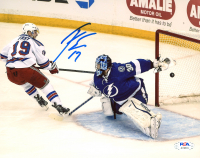 Jesper Fast Signed Rangers 8x10 Photo (PSA COA) at PristineAuction.com
