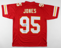"Chris Jones Signed Jersey Inscribed ""SB LIV Champ"" (Beckett Hologram) at PristineAuction.com"