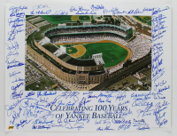 Yankees 19x25 Print Signed by (72) with Yogi Berra, Sparky Lyle, Don Larsen, Don Mattingly, Doc Gooden, Ron Guidry (MAB Hologram) at PristineAuction.com