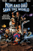 """Mom and Dad Save the World"" 27x40 Original Movie Poster at PristineAuction.com"