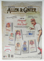 2020 Topps Allen & Ginter Baseball Retail Value Box with (48) Cards at PristineAuction.com