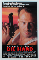 """Die Hard"" 27x40 Glossy Original Movie Poster at PristineAuction.com"