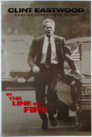 """In The Line Of Fire"" 27x40 Original Movie Poster at PristineAuction.com"