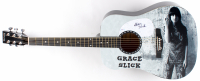 "Grace Slick Signed 39"" Acoustic Guitar (PSA COA) at PristineAuction.com"