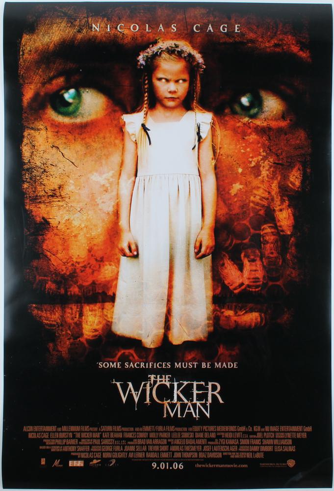"""The Wicker Man"" 27x40 Original Movie Poster at PristineAuction.com"
