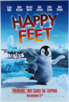"""Happy Feet"" 27x40 Movie Teaser Poster at PristineAuction.com"