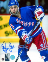 Sergei Zubov Signed Rangers 8x10 Photo (PSA COA) at PristineAuction.com