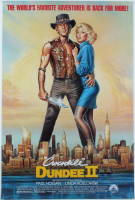 """Crocodile Dundee II"" 27x40 Original Movie Poster at PristineAuction.com"