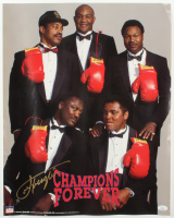"Joe Frazier Signed ""Champions Forever"" 16x20 Photo (JSA COA) at PristineAuction.com"