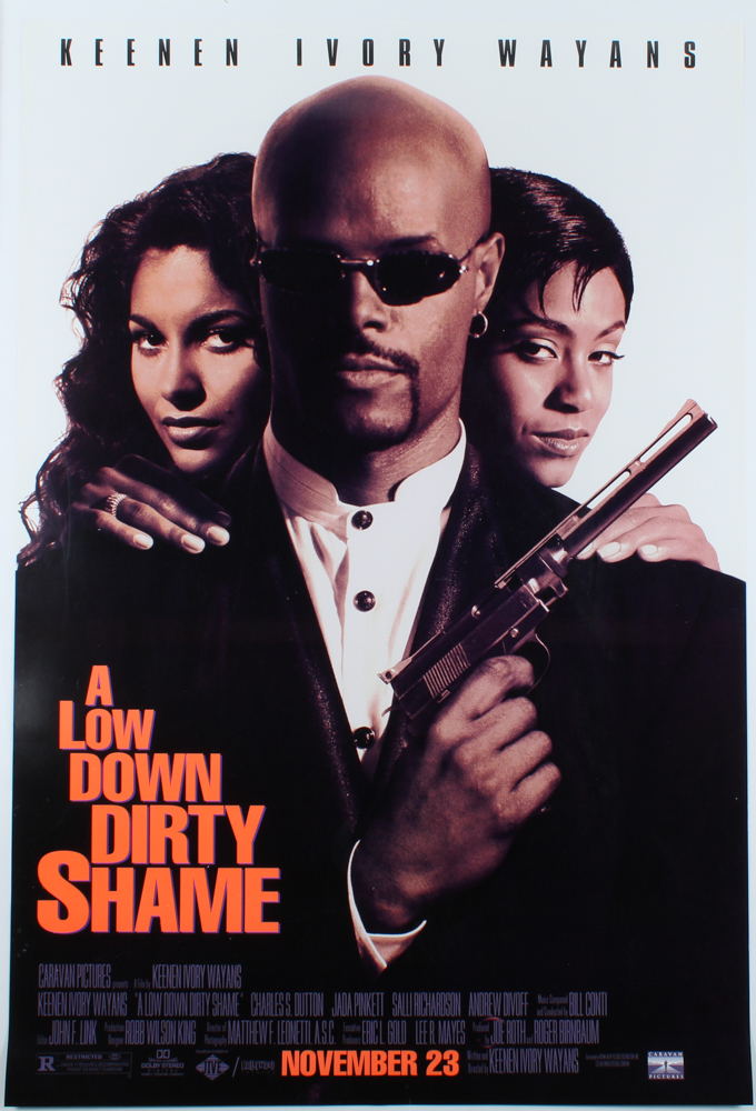 """A Low Down Dirty Shame"" 27x40 Original Movie Poster at PristineAuction.com"