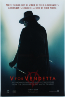 """V For Vendetta"" 27x40 Original Movie Poster at PristineAuction.com"