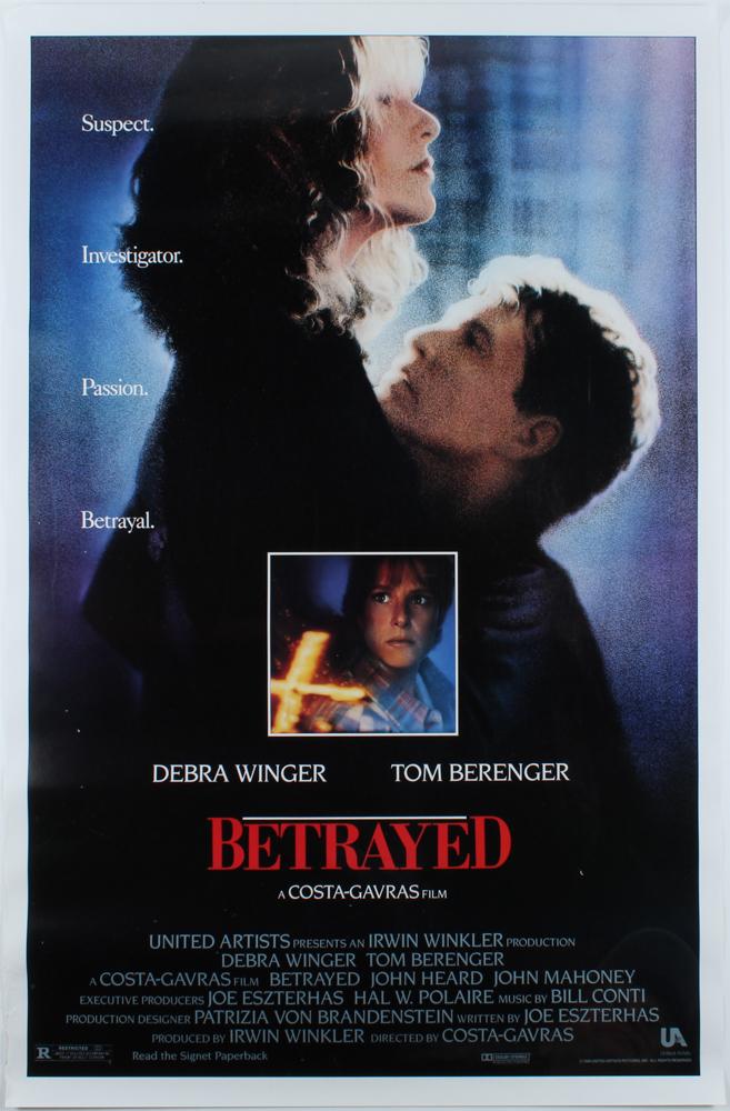 """Betrayed"" 27x40 Original Movie Poster at PristineAuction.com"