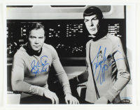 "William Shatner & Leonard Nimoy Signed LE ""Star Trek"" 11x14 Photo Inscribed ""Capt. Kirk"" (PSA COA) at PristineAuction.com"