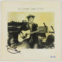 "Neil Young Signed ""Comes a Time' Vinyl Record Album Cover (PSA Hologram) at PristineAuction.com"