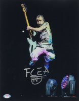 Flea Signed Red Hot Chili Peppers 11x14 Photo (PSA Hologram) at PristineAuction.com