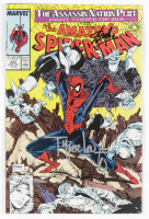 "Stan Lee & Todd McFarlane Signed 1989 ""The Amazing Spider-Man"" Issue #322 Marvel Comic Book (Beckett LOA) at PristineAuction.com"