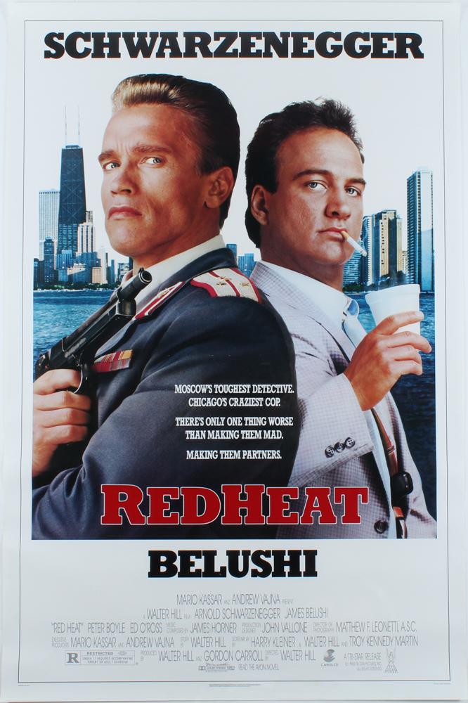 """Red Heat"" 27x40 Original Movie Poster at PristineAuction.com"
