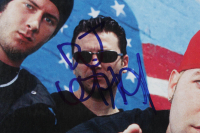 """1999 """"Spin"""" Magazine Signed by (5) with Fred Durst, Wed Borland, John Otto, DJ Lethel & Sam Rivers (Beckett LOA) at PristineAuction.com"""