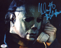"Nick Castle Signed ""Halloween"" 8x10 Photo Inscribed ""The Shape"" (PSA COA) at PristineAuction.com"