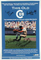 """This Old Cub"" 11x17 Movie Poster Signed By (5) With Ernie Banks, Ron Santo, Billy Williams, Randy Hundley & Glenn Beckert (Beckett LOA) at PristineAuction.com"
