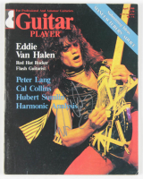 "Eddie Van Halen Signed 1980 ""Guitar Player"" Magazine (Beckett LOA) at PristineAuction.com"